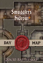 Seafoot Games - Smugglers Hideout | 20x30 Battlemap