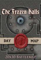 Seafoot Games - The Frozen Halls | 20x30 Battlemap