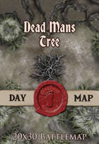 Seafoot Games - Dead Mans Tree | 20x30 Battlemap