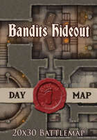 Seafoot Games - Bandits Hideout | 20x30 Battlemap