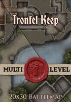 Seafoot Games - Ironfel Keep | 20x30 Battlemap
