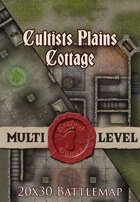 Seafoot Games - Cultists Plains Cottage | 20x30 Battlemap