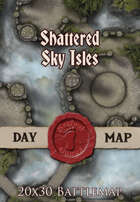 Seafoot Games - Shattered Sky Isles | 20x30 Battlemap