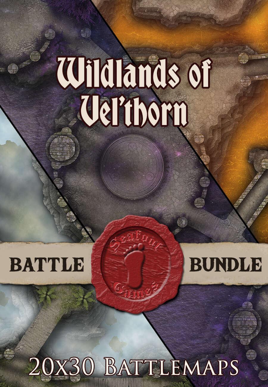 Wildlands of Vel'horn | 20x30 Battlemaps [BUNDLE] - Seafoot Games |  DriveThruRPG com