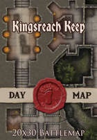 Seafoot Games - Kingsreach Keep | 20x30 Battlemap