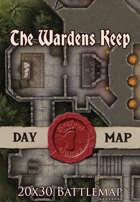Seafoot Games - The Wardens Keep | 20x30 Battlemap