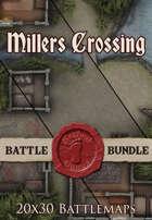 Seafoot Games - Millers Crossing   20x30 Battlemaps [BUNDLE]