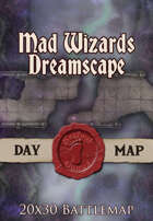 Seafoot Games - Mad Wizards Dreamscape | 20x30 Battlemap