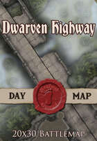 Dwarven Highway | 20x30 Battlemap [BUNDLE]