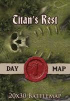 Seafoot Games - Titan's Rest | 20x30 Battlemap