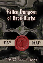 Seafoot Games - Fallen Dungeon of Bron'Darha | 20x30 Battlemap