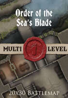 Seafoot Games - Order of the Sea's Blade | 20x30 Battlemap
