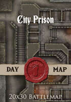 Seafoot Games - City Prison | 20x30 Battlemap