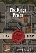 Seafoot Games - The Kings Prison | 20x30 Battlemap
