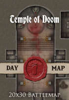Seafoot Games - Temple of Doom | 40x30 Battlemap