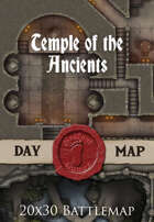 Seafoot Games - Temple of the Ancients | 40x30 Battlemap