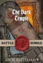 The Dark Temple | 20x30 Battlemaps [BUNDLE]