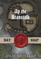 Seafoot Games - Up the Beanstalk | 20x30 Battlemap