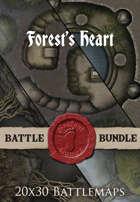 Forest's Heart | 20x30 Battlemaps [BUNDLE]