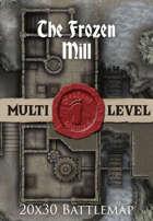 Seafoot Games - The Frozen Mill | 20x30 Battlemap