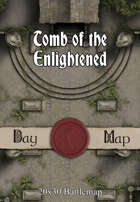 Seafoot Games - Tomb of the Enlightened | 20x30 Battlemap