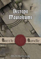 Decrepit Mausoleums | 20x30 Battlemaps [BUNDLE]