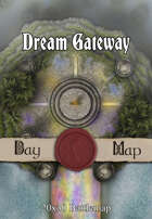 Seafoot Games - Dream Gateway | 20x30 Battlemap