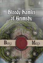 Seafoot Games - Bloody Hamlet of Grimsby | 20x30 Battlemap