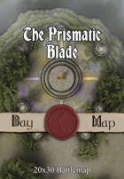 Seafoot Games - The Prismatic Blade | 20x30 Battlemap