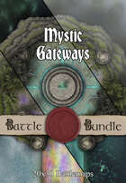 Mystic Gateways | 20x30 Battlemap [BUNDLE]