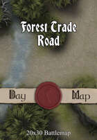Seafoot Games - Forest Trade Road | 20x30 Battlemap