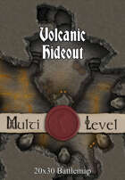 Seafoot Games - Volcanic Hideout | 20x30 Battlemap