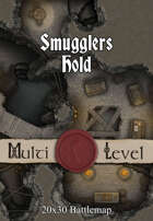 Seafoot Games - Smugglers Hold | 20x30 Battlemap
