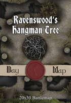 Seafoot Games - Ravenswood's Hangman Tree | 20x30 Battlemap