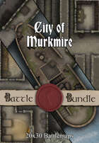 City of Murkmire | 20x30 Battlemaps [BUNDLE]