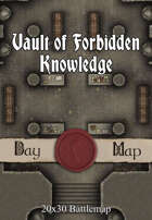 Seafoot Games - Vault of Forbidden Knowledge | 20x30 Battlemap