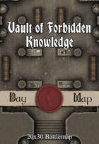 Seafoot Games - Vault of Forbidden Knowledge   20x30 Battlemap