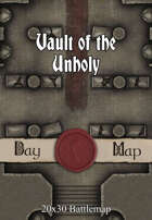 Seafoot Games - Vault of the Unholy | 20x30 Battlemap