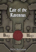 Seafoot Games - Lair of the Ravenous | 20x30 Battlemap
