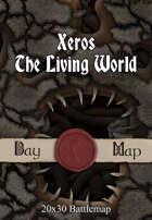 Seafoot Games - Xeros, The Living World | 40x30 Battlemap