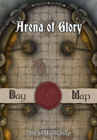 30x20 Battlemap - Arena of Glory