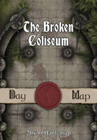 30x20 Battlemap - The Broken Coliseum