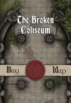 30x20 Battlemap - The Broken Coliseum
