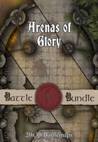 Arenas of Glory   30x20 Battlemaps [BUNDLE]