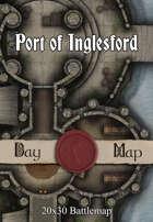 30x20 Multi-Level Battlemap - Port of Inglesford