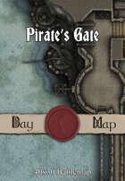 40x30 Battlemap - Pirate's Gate