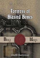 40x30 Battlemap - Fortress of Blasted Bones
