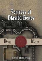 40x30 Battlemap - Fortress of Blasted Bones