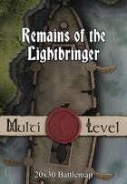 30x20 Multi-Level Battlemap - Remains of the Lightbringer