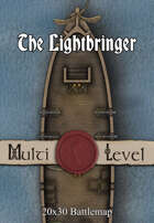 30x20 Multi-Level Battlemap - The Lightbringer